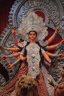 Shakti Photograph - Durga Goddess 2012 by Rajan Advani