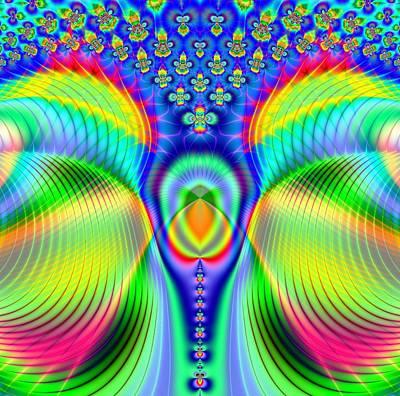 Atom Mixed Media - Early Evolution Dna by Deborah Juodaitis