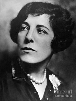 Edna Ferber (1887-1968) Print by Granger