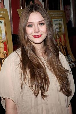 Opening Night Photograph - Elizabeth Olsen At Arrivals by Everett