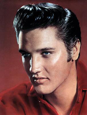 Elvis Presley Print by Everett