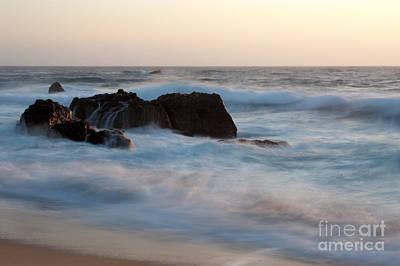 Evening At Beach 2 Original by Catherine Lau