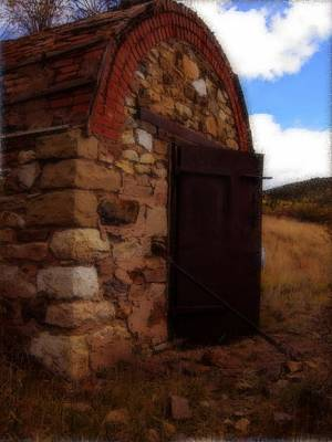 Explosives Shed  Print by Howard Perry