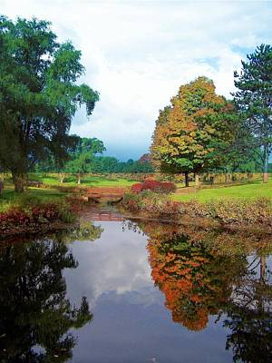 Photograph - Fall Reflections I by Frank LaFerriere
