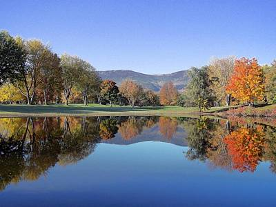 Photograph - Fall Reflections II by Frank LaFerriere