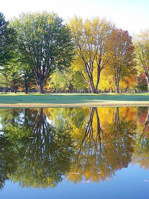 Photograph - Fall Reflections Viii by Frank LaFerriere