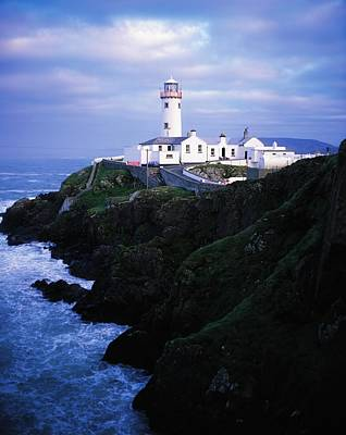 Fanad Lighthouse, Fanad Head, Co Print by The Irish Image Collection