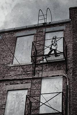 Fire Escape  Print by Jerry Cordeiro