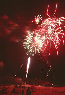 Fireworks Display Print by Magrath Photography
