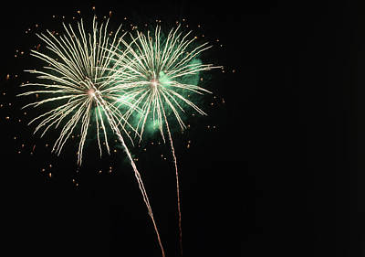 Fireworks Print by Magrath Photography