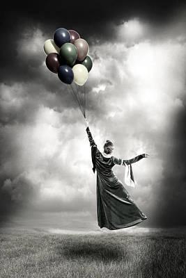 Levitation Photograph - Floating by Joana Kruse