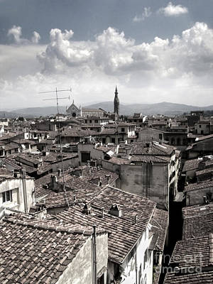 Florence Italy - 02 Print by Gregory Dyer