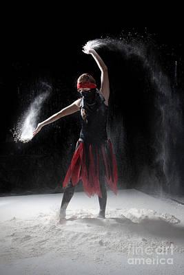 Vertical Photograph - Flour Dancer Series by Cindy Singleton