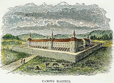 Fort Marietta, Ohio, C1790 Print by Granger