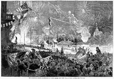 Fourth Of July, 1876 Print by Granger