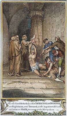 Foxe: Spanish Inquisition Print by Granger