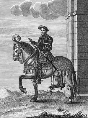 Francis I (1494-1547) Print by Granger