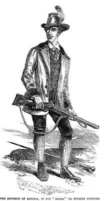 Francis Joseph I (1830-1916) Print by Granger