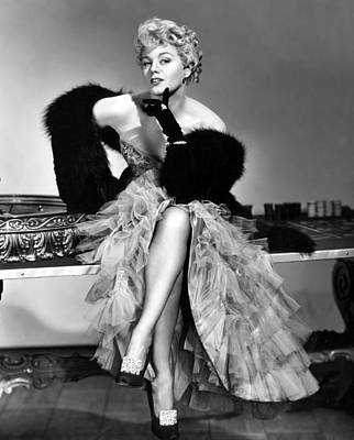Frenchie, Shelley Winters, 1950 Print by Everett