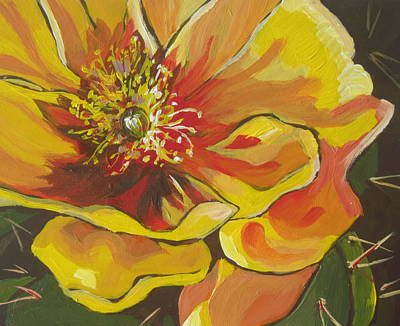 Full Bloom Original by Sandy Tracey
