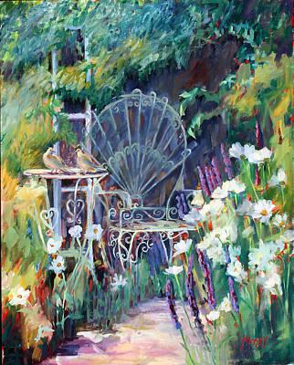 Garden Respite Original by Marie Massey