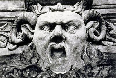 Monster Photograph - Gargoyle by Simon Marsden