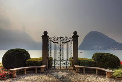 Ticino Photograph - Gateway To The Lake Of Lugano by Joana Kruse