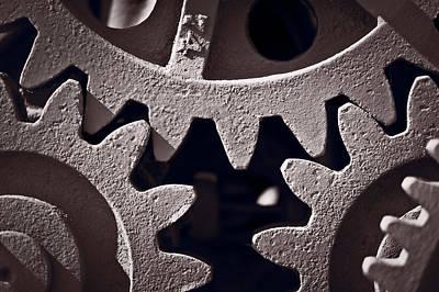 Gears Number 2 Original by Steve Gadomski