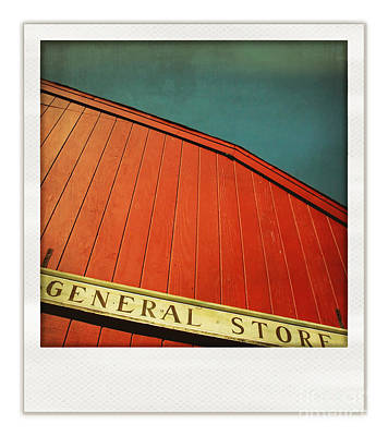 General Store Print by HD Connelly