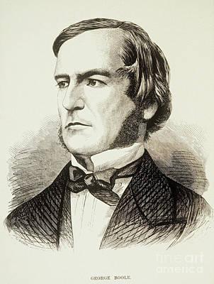 George Boole, English Mathematician Print by Photo Researchers
