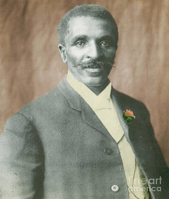 Born Into Slavery Photograph - George W. Carver, African-american by Science Source