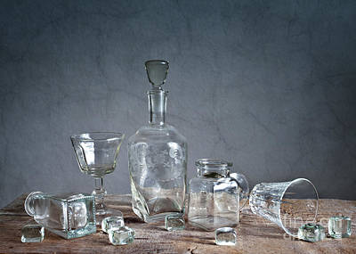 Glasses Photograph - Glass by Nailia Schwarz