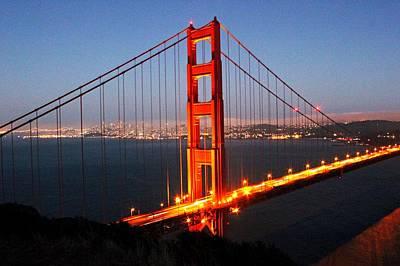 Landscape Photograph - Golden Gate  by Caroline Lomeli