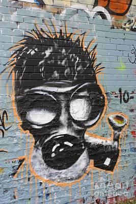 Gaz Photograph - Graffiti 6 by Sophie Vigneault