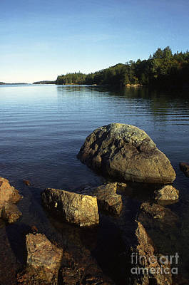 Penobscot Bay Photograph - Greenlaw Cove Deer Isle Maine by Thomas R Fletcher