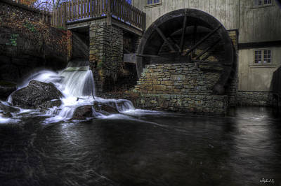 Photograph - Grist Mill 1 by Stephen EIS