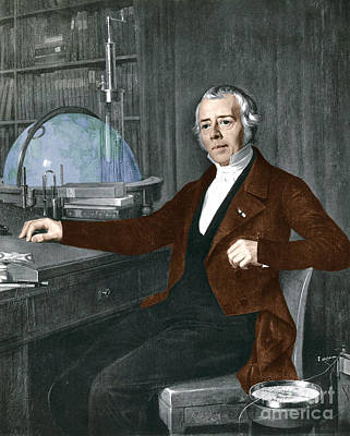 Hans Christian �rsted, Danish Physicist Print by Photo Researchers