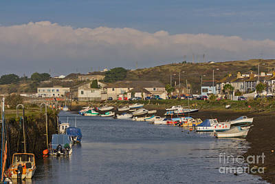 Hayle Harbour Print by Brian Roscorla