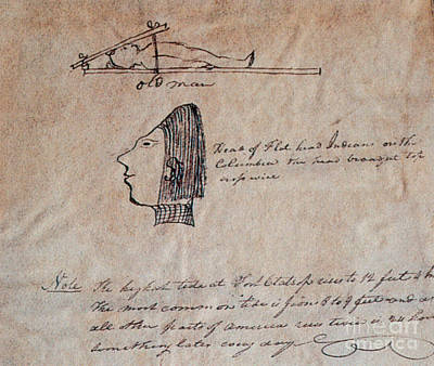 Head-flattening By Chinook Indians Print by Photo Researchers