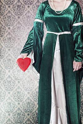 Necklace Photograph - Heart by Joana Kruse