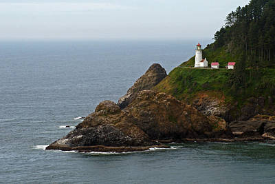 Heceta Head Lighthouse Print by Jake Johnson