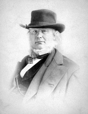 Horace Greeley 1811-1872 Print by Everett