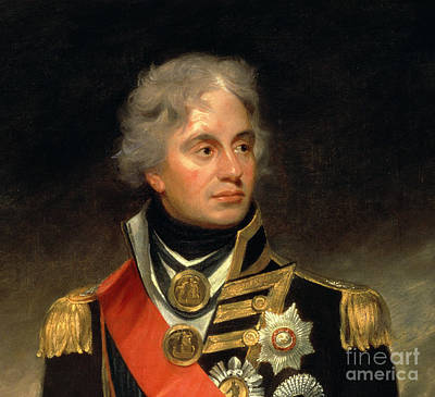 Sashes Painting - Horatio Viscount Nelson by Sir William Beechey