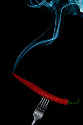Chillie Photograph - Hot Bite by Gert Lavsen