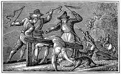 Ireland: Cruelties, C1600 Print by Granger