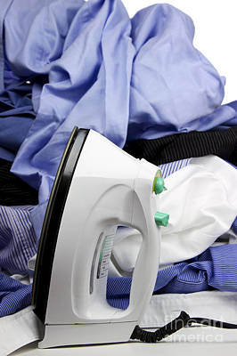 Mess Photograph - Ironing by Blink Images