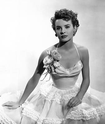Hoop Skirt Photograph - It Happens Every Spring, Jean Peters by Everett