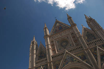 Orvieto Photograph - Italys Most Ornate Duomo Is In Orvieto by Heather Perry