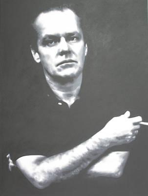 Jack Nicholson Painting - Jack by Luis Ludzska