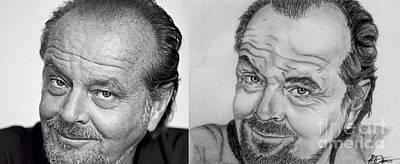 Jack Nicholson Drawing - Jack Nicholson by Nathaniel Bostrom